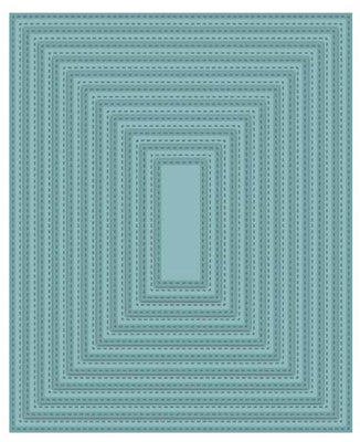 Sue Wilson Dies - Noble  Collection - Collection Double Stitched Rectangles Die