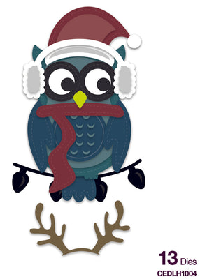 Creative Expressions Collection - Die Creative Expressions Collection - Stitched Collection - - Owl