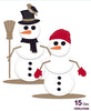 Creative Expressions Collection - Die Creative Expressions Collection - Stitched Collection - - Snowman