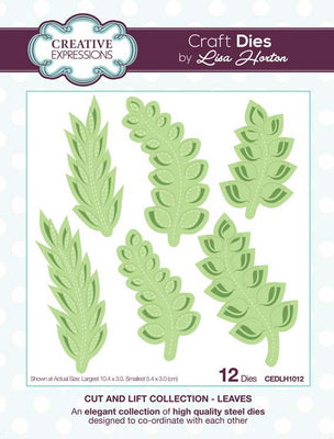 Creative Expressions Collection - Cut and Lift Collection Leaves Craft Die