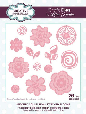 Creative Expressions Collection - Creative Expressions Collection - Stitched Collection - Stitched Blooms Craft Die
