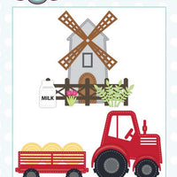 Creative Expressions Collection - Creative Expressions Collection - Stitched Collection - Down on the Farm Craft Die
