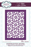 Creative Expressions Collection - Background Collection Daisy Mosaic Craft Die
