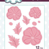 Creative Expressions Collection - Cut and Lift Collection Pansies Craft Die
