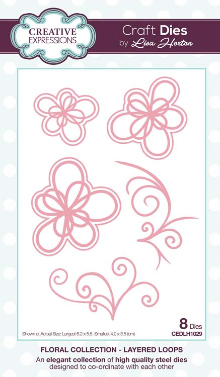 Creative Expressions Collection - Layered Loops Craft Die