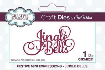 Mini Sue Wilson Dies - Expressions Collection - Collections Jingle Bells