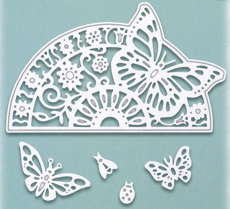 Creative Expressions - Paper Cuts Collection - Butterfly Circle