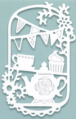 Creative Expressions - Paper Cuts Collection - Tea Party