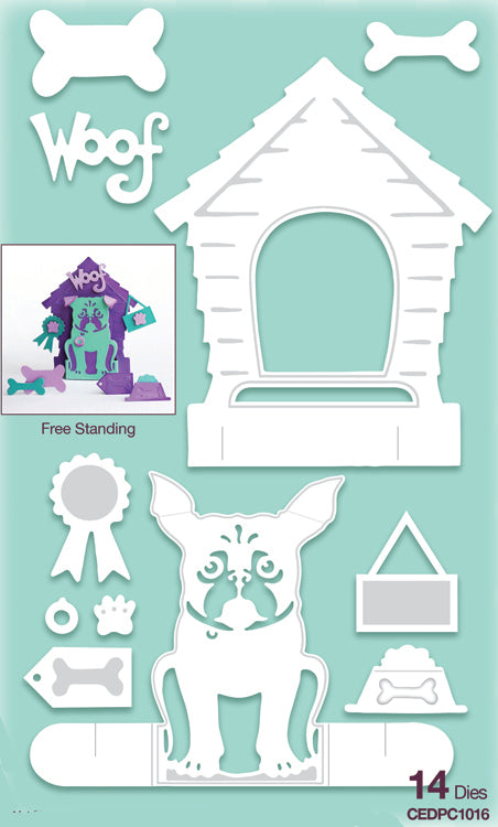 Creative Expressions Collection - Die Paper Cuts 3D - The Dog House