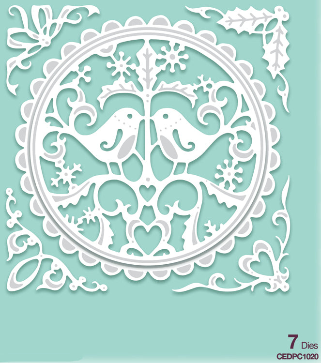 Creative Expressions - Paper Cuts Collection - Turtle Doves