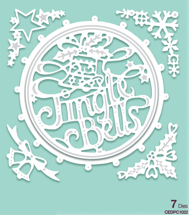 Creative Expressions - Paper Cuts Collection - Jingle Bells