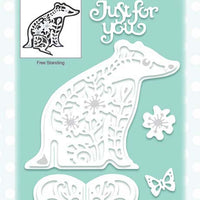 Creative Expressions - Paper Cuts 3D Collection - Badger Die