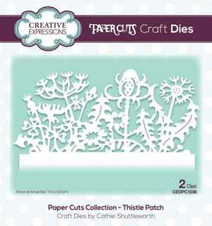 Creative Expressions - Paper Cuts Collection - Thistle Patch Craft Die