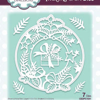 Creative Expressions - Paper Cuts Collection - Bells and Bows