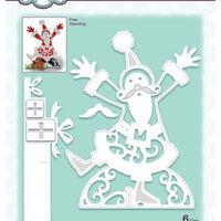 Creative Expressions - Paper Cuts 3D Collection - Santa