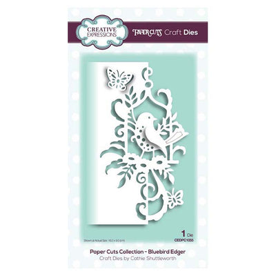 Creative Expressions - Paper Cuts Collection - Bluebird Edger Craft Die