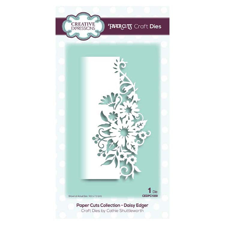 Creative Expressions - Paper Cuts Collection - Daisy Edger Craft Die