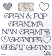 Phill Martin Sentimentally Yours: From the Heart Collection: Grandparents