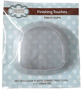 Domed Treat Cup pk 6