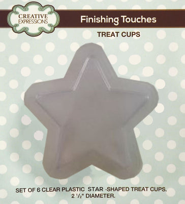 Star Shaped Treat Cups pk 6