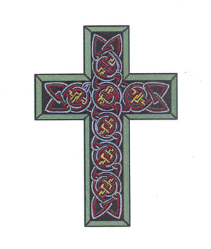 Frog's Whiskers Stamps - Celtic Cross