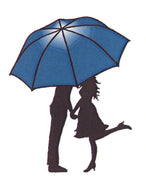 Frog's Whiskers Stamps - Umbrella Kisses