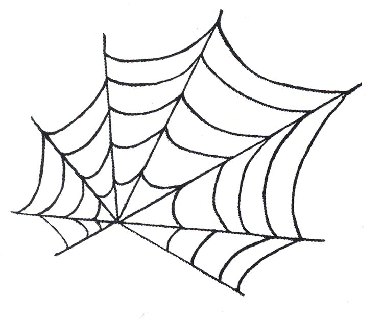 Frog's Whiskers Stamps - Spooky Spider Web