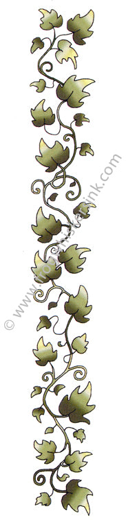 Frog's Whiskers Stamps - Ivy Border Cling Mount Stamp