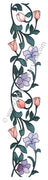 Frog's Whiskers Stamps - Tulip Border Cling Mount Stamp