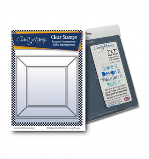 Clarity Stamps-Jayne's Frame Clear Stamp Set