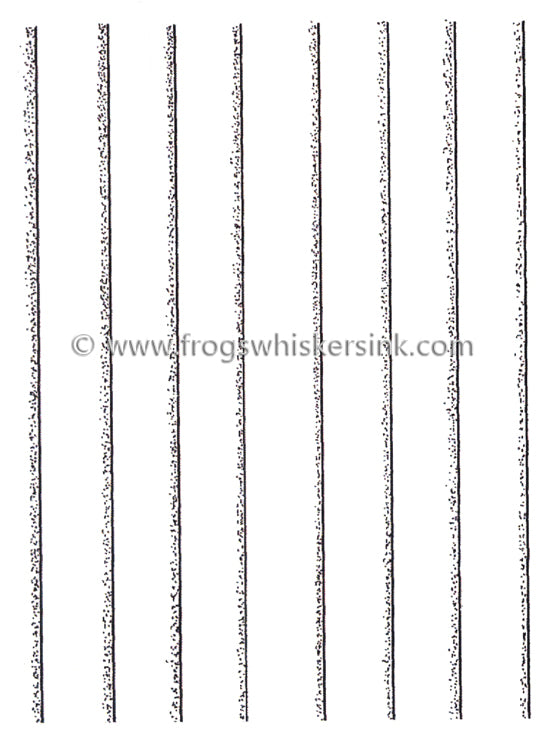 Frog's Whiskers Stamps - Clapboard
