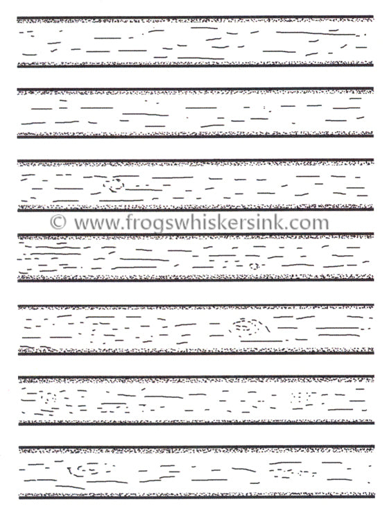 Frog's Whiskers Stamps - Board & Batten