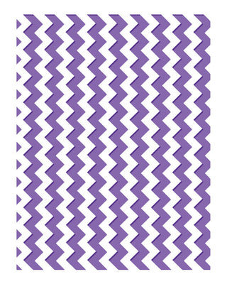 Embossing Folders - Zig Zag Chevrons - The Harmony Collection