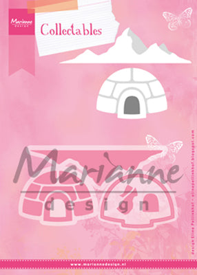 Marianne Design: Collectables Die Set - Eline's Igloo and Mountain