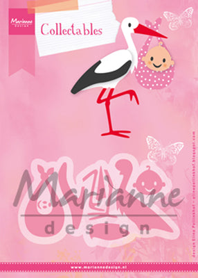 Marianne Design - Collectables Die Set - Eline's Stork