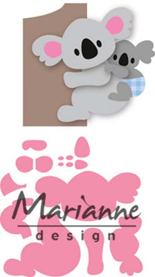 Marianne Design Collectables Eline's Koala & Baby