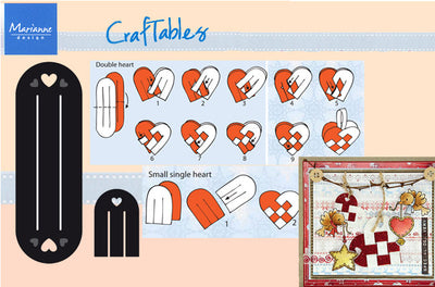 Marianne Design: Craftables Dies - Scandinavian Hearts