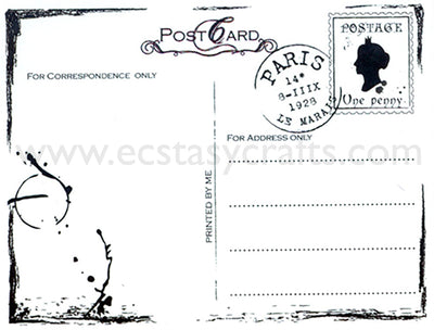 Clear Stamp -Postcard