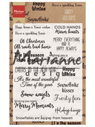 Marianne Design Stamps Happy Holidays