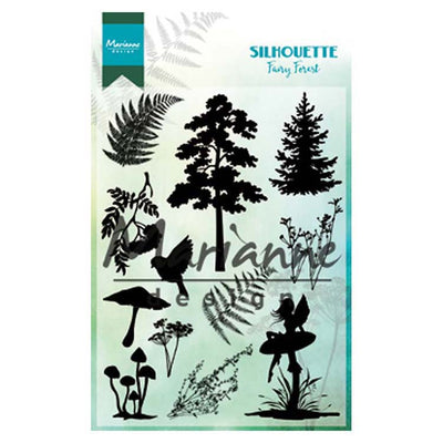 Marianne Design Stamps Silhouette Fairy Forest