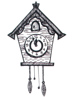 "Clear stamps Christmas-time serie ""Clock"""
