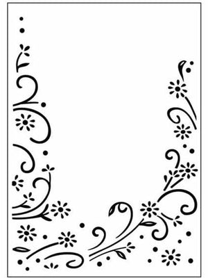 Embossing Folder Daisy Flourish