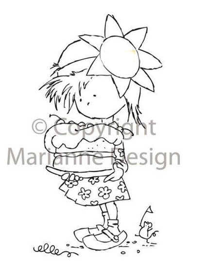 Clear Stamps - Don & Daisy-Sweet Daisy