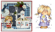 Clear Stamps - Don & Daisy-Christmas Daisy