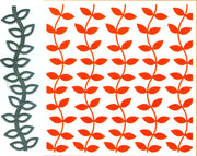 Embossing Folder and die - Design Folder Extra - Leaves