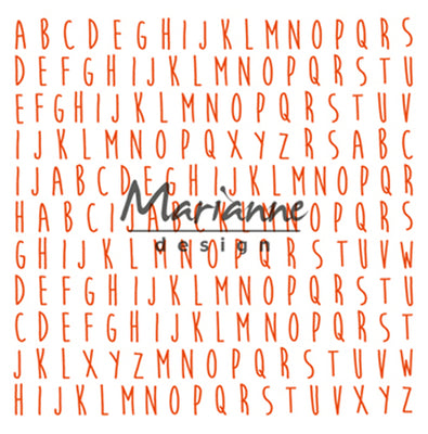 Marianne Design ABC