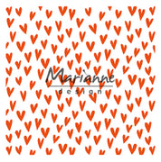 Marianne Design Embossing Folder Trendy Hearts