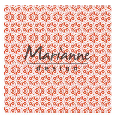 Marianne Design Embossing Folder Japanese Star