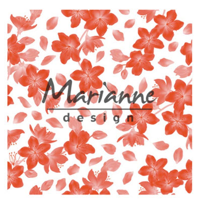 Marianne Design Embossing Folder Blossom