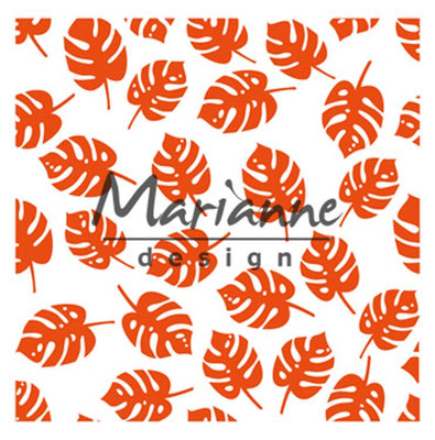 Marianne Design Embossing Folder Tropical Leaves